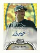 2011 Bowman Sterling Gold Auto