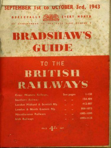Bradshaw's Continental Railway Guide, 1913 (Old House)