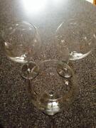 Princess House Crystal Wine Glasses
