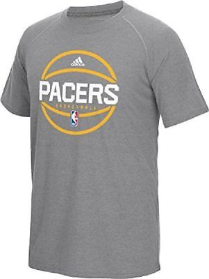 Indiana Pacers Adidas Slim Fit On-Court Dark Grey Pre-Game U
