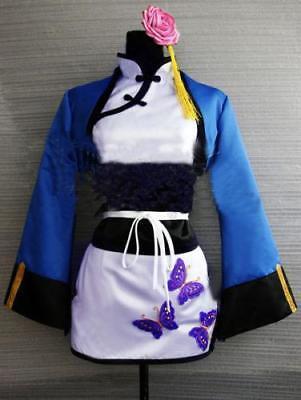 Black Butler Costume Kuroshitsuji Ranmao Cosplay Costume -Free shipping