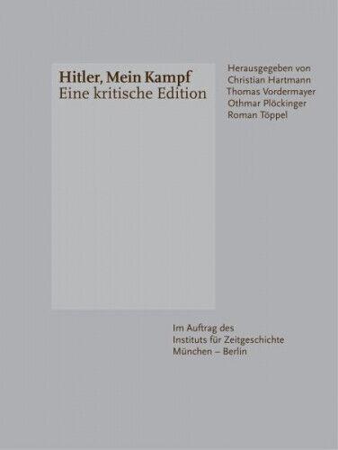 Hitler, Mein Kampf - Eine kritische Edition von Adolf Hitler (Buch) NEU