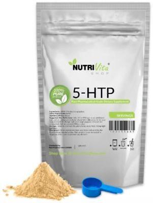 2X 25g (50g) 5-HTP 100% PURE Powder Anti-Depressant Mood Enhancer USP GRADE