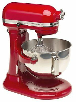Kitchenaid Pro Stand Mixer 450-w 5-qt Kv25g0xer All Metal Empire Red
