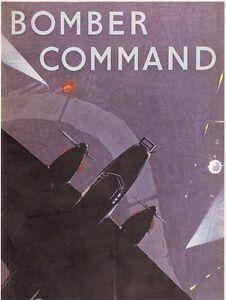 Vintage-World-War-2-RAF-Bomber-Command-Poster-A3-Reprint