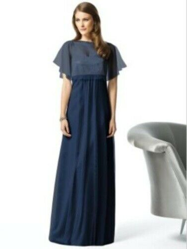 Mother of the Bride Dress....2840...Midnight Blue...Size 6