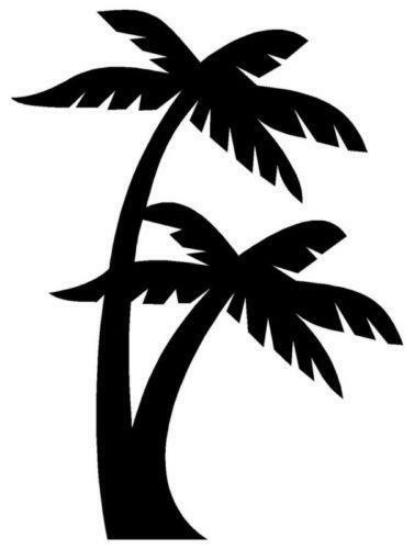 palm tree car decal ebay