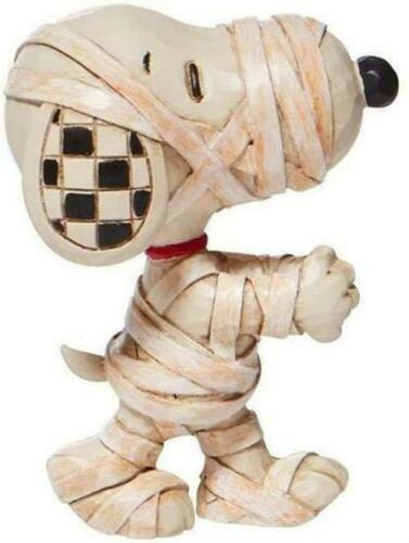 Jim Shore Peanuts Halloween Snoopy Mummy Mini Figurine 6008967
