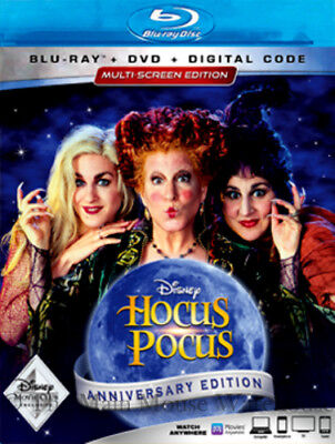 Disney Classic Halloween Witch Movie Hocus Pocus Blu-ray DVD & Digital Copy Code](Disney Family Halloween Movies)