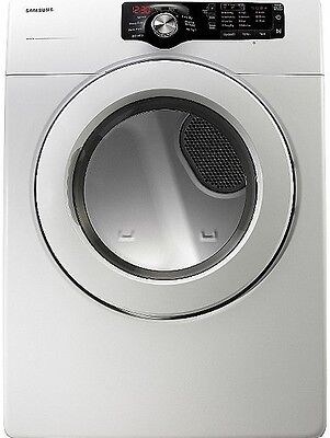 "مجفف الغسيل جديد New Samsung DV210AGW 27"" White Gas Dryer 7.3′ Local Pickup Only"