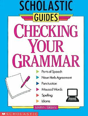 Checking Your Grammar  Turtleback School  Amp  Library