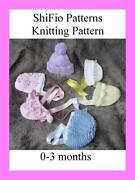 Baby Hat Knitting Pattern