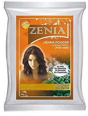 1lb Zenia Pure Rajasthani Henna Powder Body Art Quality Mehandi USA