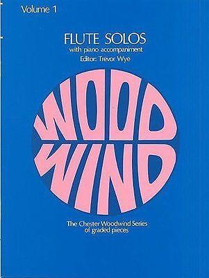 Flute Solos Volume 1       Flute, Piano Accompaniment      Trevor Wye
