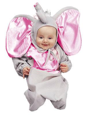 Little Elephant Newborn Animal Bunting Costumes 0-6m](Newborn Elephant Costume)