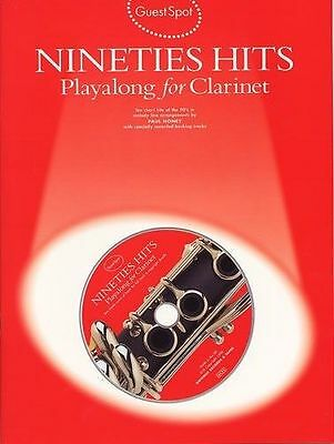 Nineties Hits Playalong For Clarinet. Sheet Music, CD Guest Spot: