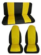 Yellow Seat Covers