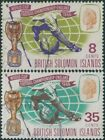 Football Solomon Islander Stamps