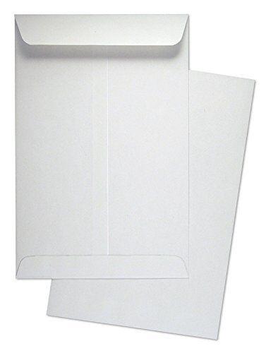 "Cashier Depot 6"" x 9"" Premium Catalog (Open End) Envelopes, 24lb. White 500/Box"