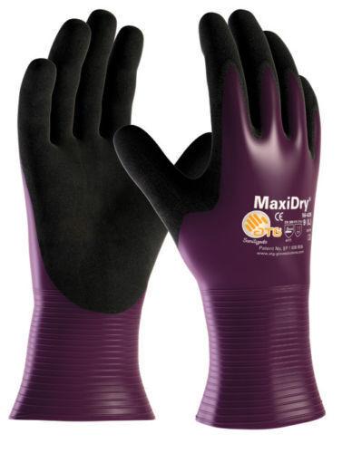 Latex Rubber Warrior Orange Grip Work Gloves 120 Pairs 57p a Pair