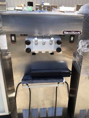 Saniserv 3 Flavor Ice Cream Machine A5223p