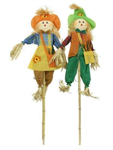 Garden Scarecrow Ebay