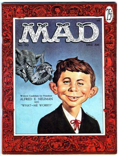 *** MAD MAGAZINE LOT 24 IN TOTAL (1974-1979) ZINES COMEDY HUMOR CULT ***