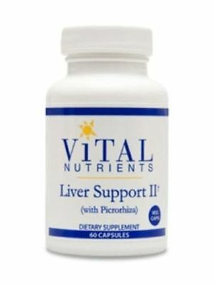 Vital Nutrients Liver Support II  60 vcaps