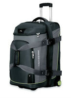 "High Sierra 26"" Drop Bottom Wheeled Duffle Backpack Luggage"