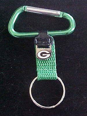 (Green Bay Packers Logo Carabiner Key Ring Great Gift)