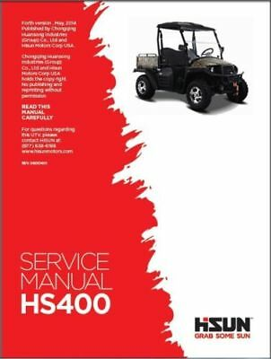 Hisun Hs 400 Utv Service Owners Parts Cd Coleman Bennche Massimo Qlink Ys400