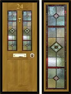 Stained glass panel ebay stained glass door panels planetlyrics Image collections