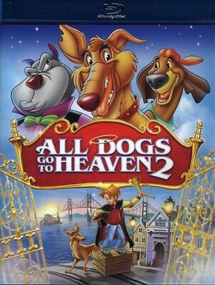 All Dogs Go to Heaven 2 [New Blu-ray] Pan & Scan