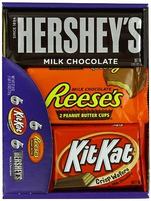 Hershey's Chocolate Variety Pack 18 Count 27.3 Ounce Box 18