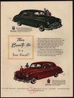 Red Kaiser-Frazer Auto Advertising