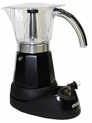 Coffee Maker Black Imusa Cafetera Electrica Espresso 3 - 6 Cup Electric