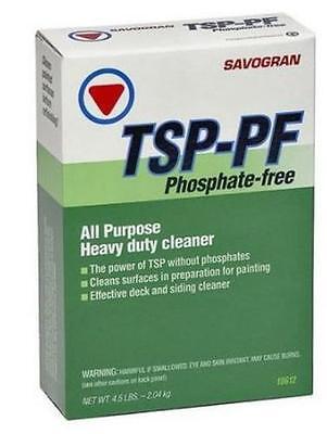 Savogran 10612 Tsp Pf Phosphate Free Cleaner  4 5 Lbs