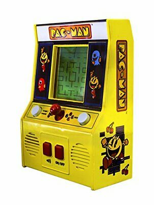 Pac-Man Mini Arcade Game Pacman Machine Vintage Look Nostalgia Classic Game Play