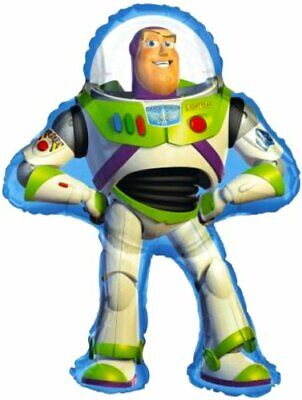 Buzz Lightyear Toy Story Large Foil Balloon Supershape Birthday Party Decoration ()