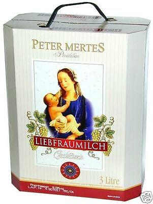 PETER MERTES LIEBFRAUMILCH 3,0 l – Bag in Box – Lieblich – Weißwein – Wein –
