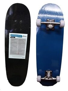 Monster Kids/Junior/Beginner Full Size Complete Skateboard - Blue 28