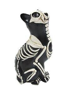 Day of the Dead Cat Meowing Dia De Los Muertos Cat Sugar Skull Cat
