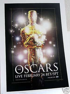 Academy Awards Party Decorations (80th ACADEMY AWARDS POSTER! 12x18 THICKER CARDBOARD OSCAR Party Decoration!)