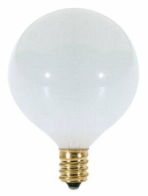 Satin Spun Satco Products Satco S2703 120V Candelabra Base 25-Watt C11 Light Bulb