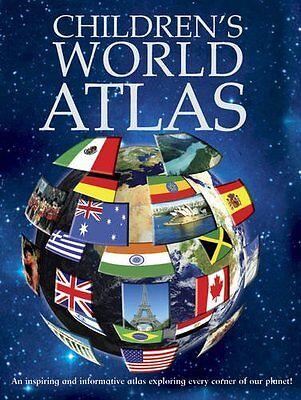 Children's World Atlas (Encyclopedia 128) By Igloo Books Ltd