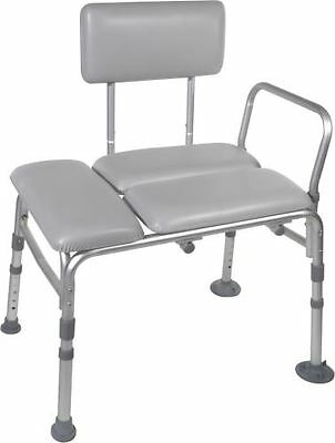 Drive Bath Padded Transfer Bench Back, Legs And Arms