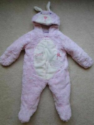 Sweet Bunny Costume (Babies R Us Girls Pink Sweet Bunny Costume Winter Snow Suit Size 9)