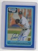 Evan Longoria Bowman Chrome Auto