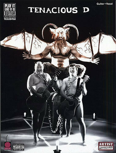 Tenacious D Guitar Vocal Sheet Music Book TAB Learn NEW