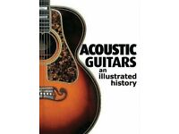 ACOUSTIC GUITARS AN ILLUSTRATED HISTORY BY JONATHAN LISTER